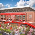 New Anfield Main Stand - External View
