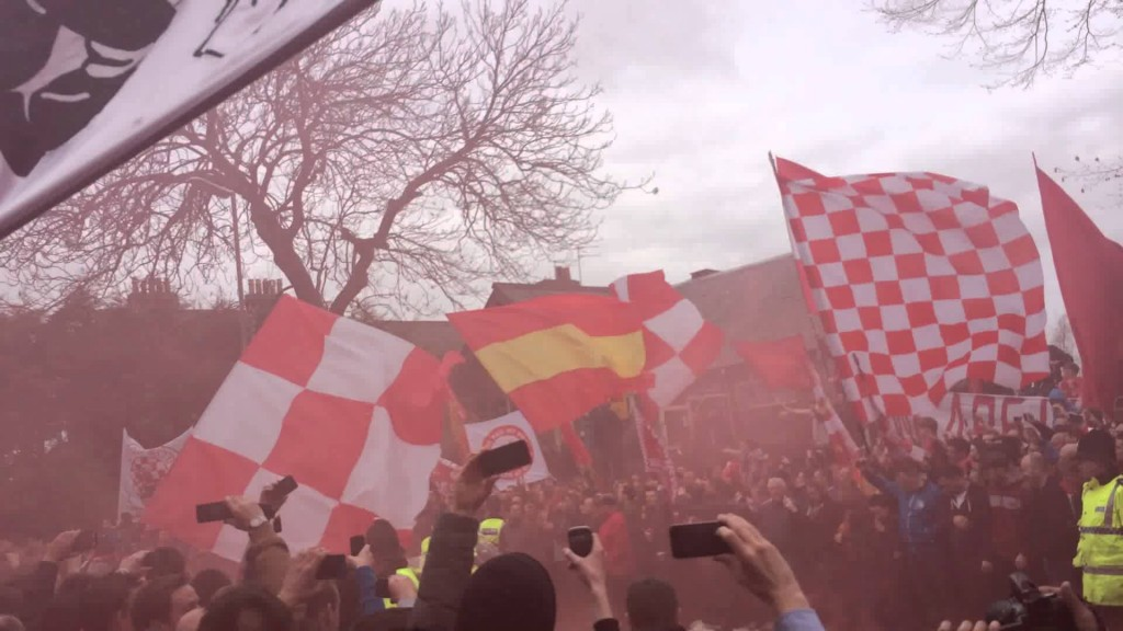 VIDEO: How LFC fans enjoyed the Man City game