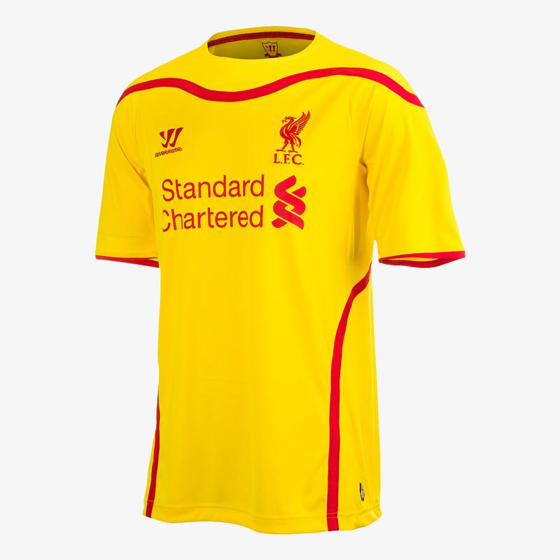 LFC Away Kit 2014-15