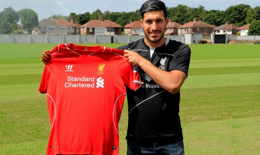 Liverpool Confirm Emre Can Signing