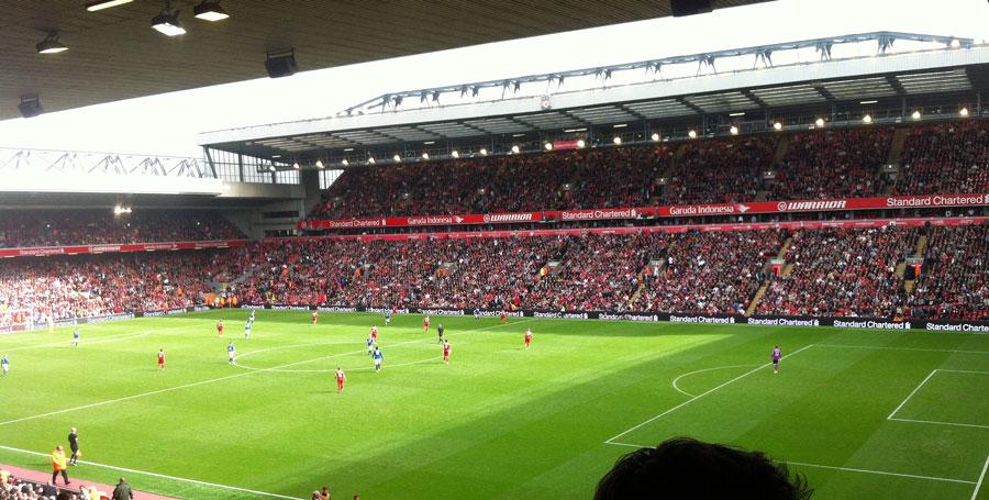 LFC 1-1 Everton Merseyside Derby September 2014