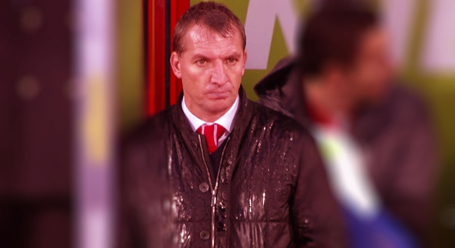 Brendan Rodgers is under pressure now at Liverpool