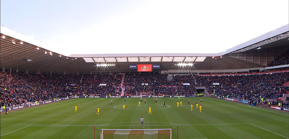 Sunderland 0-1 Liverpool - Stadium of Light
