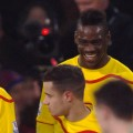 Mario Balotelli and Adam Lallana celebrate the reds winner