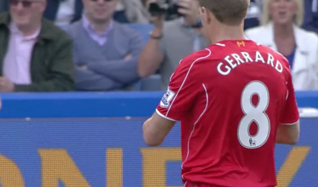 Gerrard subbed off at Chelsea