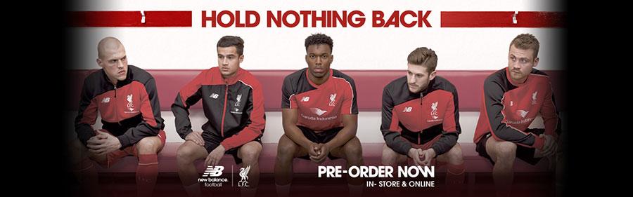 LFC unveil training kits for 2015-16