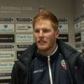Adam Bogdan played at Anfield earlier this season