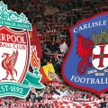 Liverpool v Carlisle United League Cup at Anfield