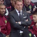 Brendan Rodgers watches on as newly-promoted Norwich earn a point at Anfield