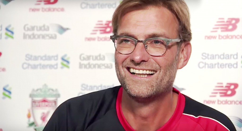 Jurgen Klopp is the new manager of Liverpool FC (Anfield Online)