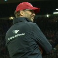 Jurgen Klopp at Anfield for Liverpool v Crystal Palace