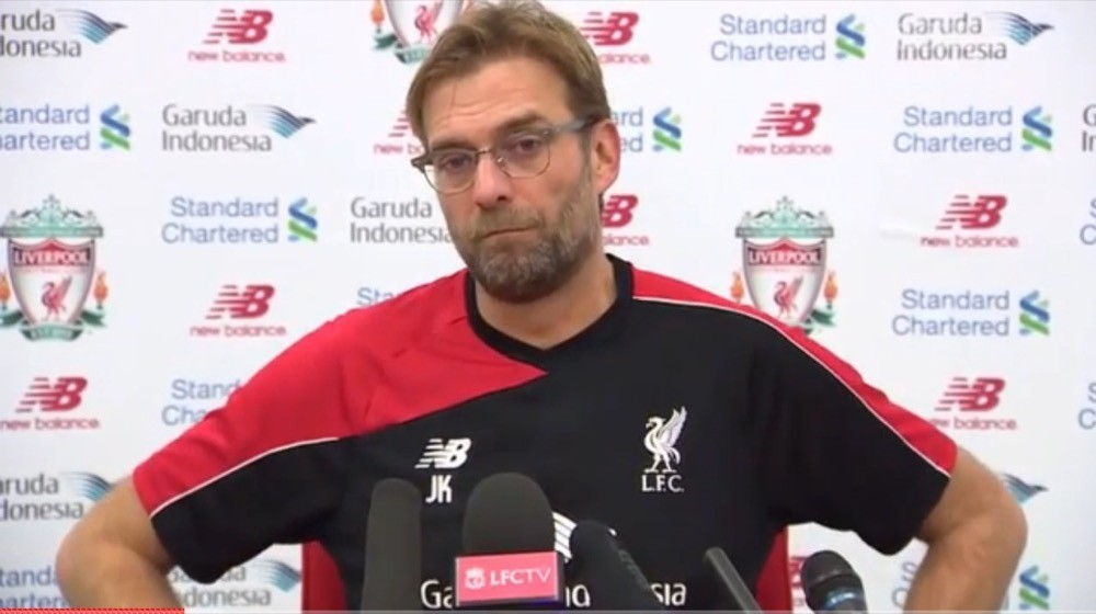 Jurgen Klopp Pre-Exeter Press Conference