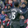 Daniel Sturridge celebrates against Southampton