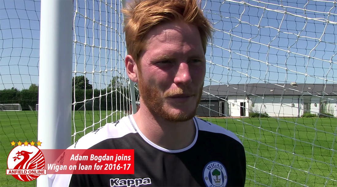 Bogdan joins Wigan on loan for 2016-17
