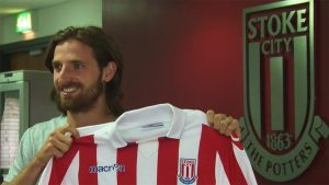 Joe Allen leaves Liverpool for Stoke