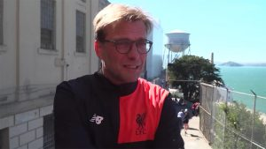 Jurgen Klopp in the USA