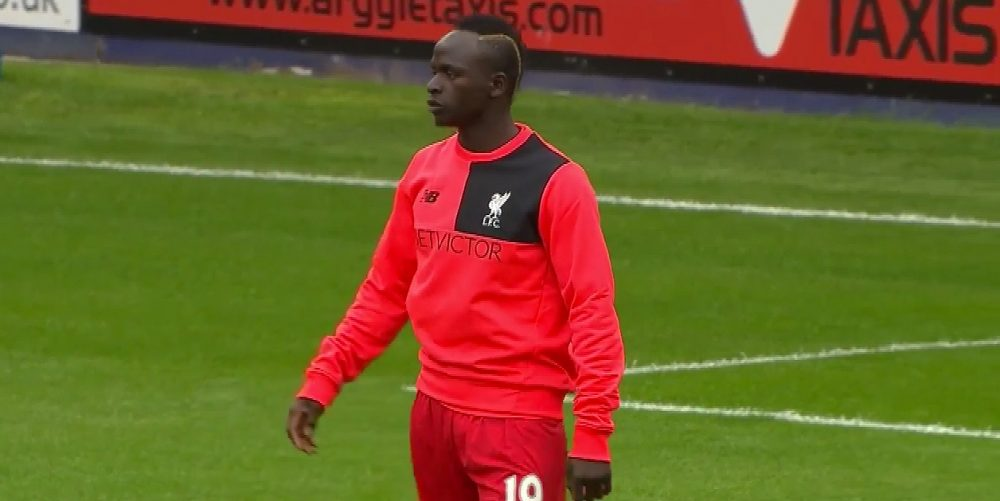 Sadio Mane starts his first game for Liverpool against Tranmere