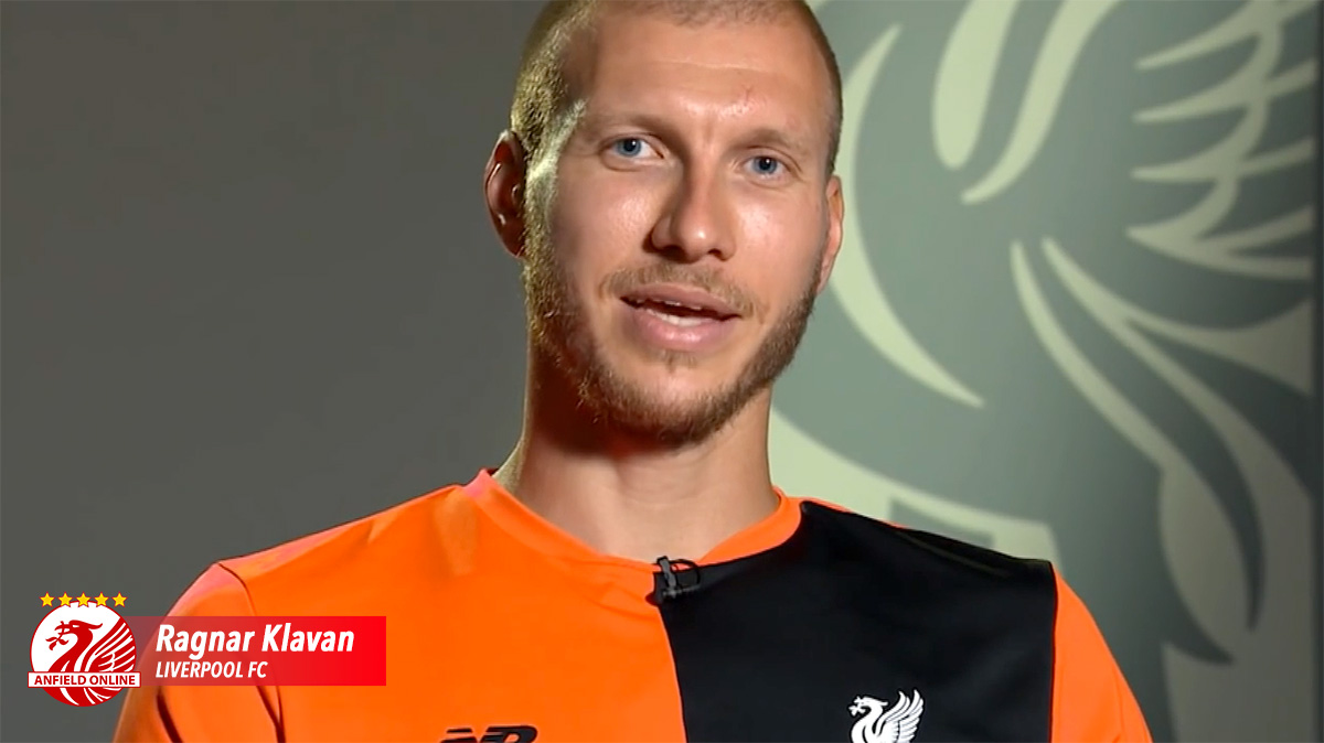 Ragnar Klavan Liverpool FC defender