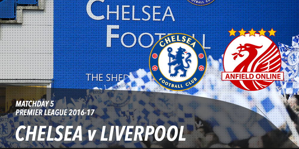 Chelsea v Liverpool Friday at Stamford Bridge