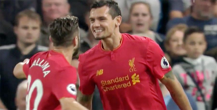 Lovren scores v Chelsea