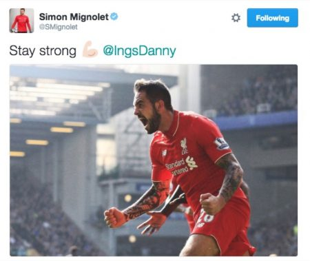 LFC keeper Simon Mignolet offers his thoughts..