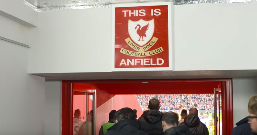 Video Anfield Tunnel Cam 6 1 V Watford Anfield Online