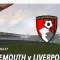 LIVE Bournemouth v Liverpool FC