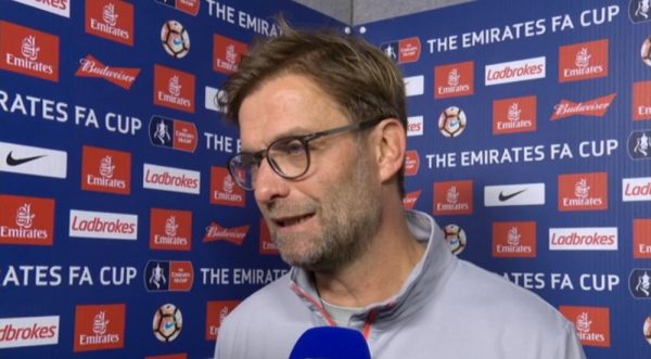 Jurgen Klopp post-match Plymouth