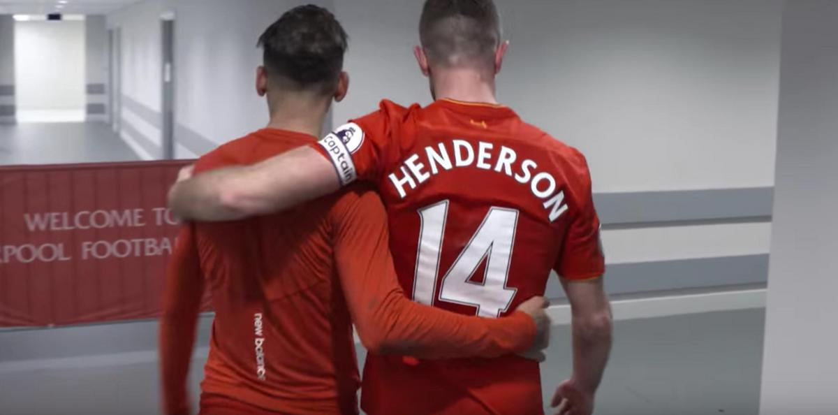 low priced 9f507 48449 Liverpool welcome back Jordan Henderson after troubled 2017 ...
