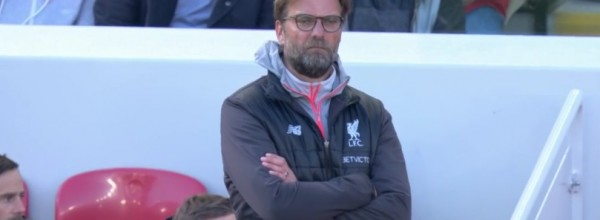 Klopp watches as Palace beat Liverpool
