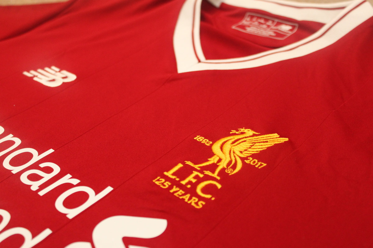 LFC Home Badge 125 year 2017-18 Kit