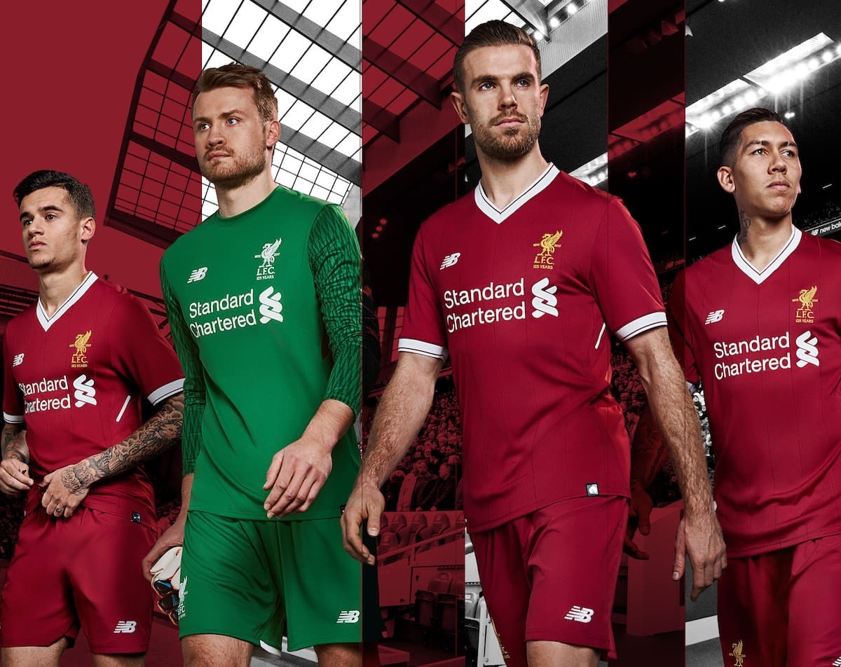 LFC Players show off the new home kits
