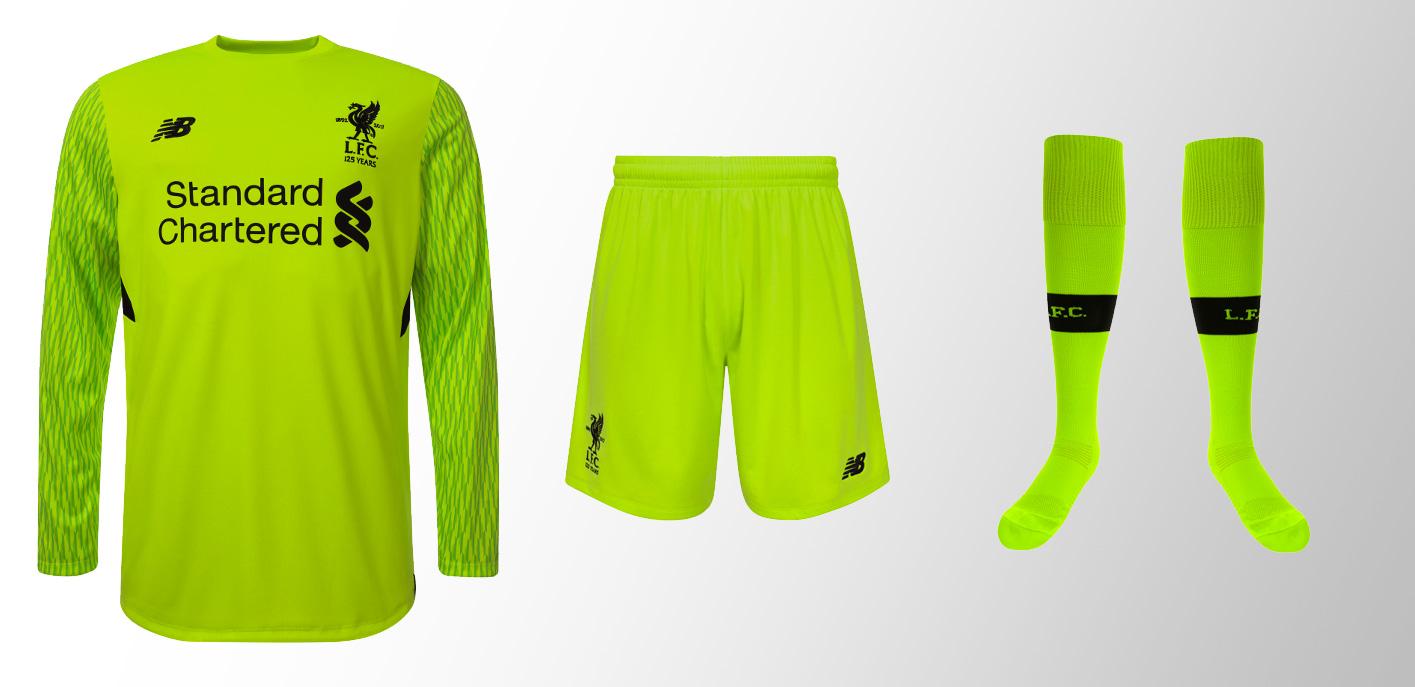 Liverpool Goalkeeper Third Kit Range 2017-18