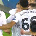Coutinho celebrates in Moscow
