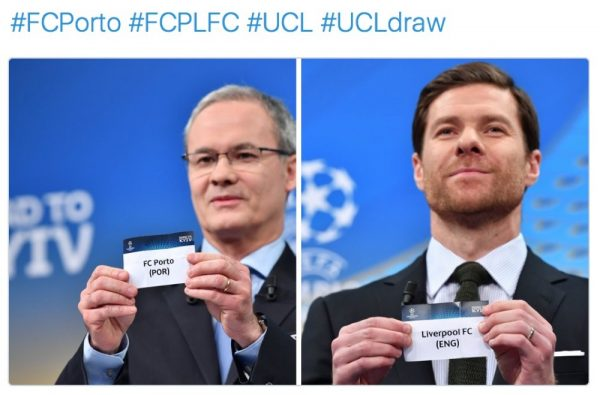 Alonso picks out Liverpool in UEFA draw