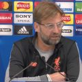 Klopp Pre Man City Champions League Quarter Final