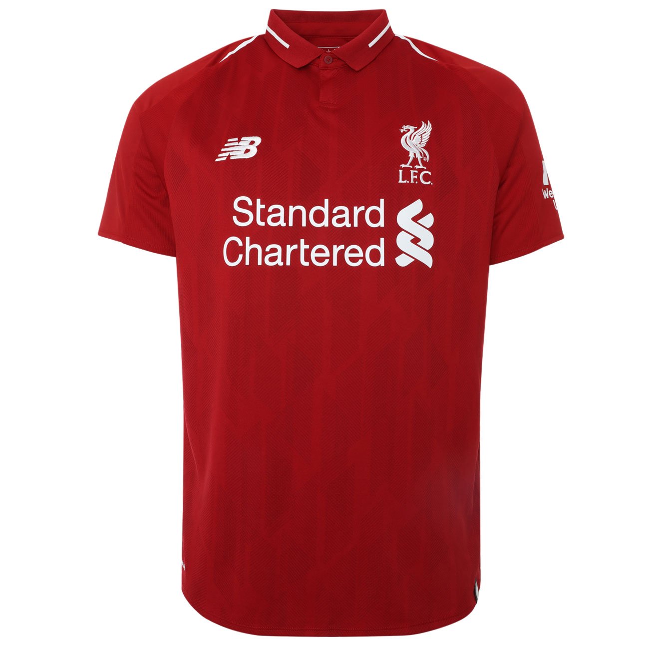 New LFC Home Shirt Front 2018-19