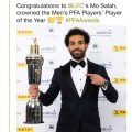PFA announce Mo Salah as Player of the Year