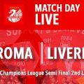 LIVE AS Roma v Liverpool