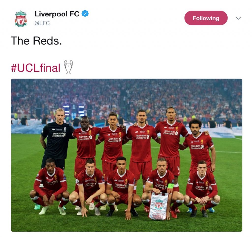 LFC announce European Cup Final team