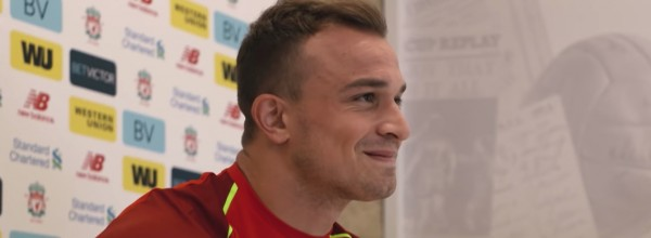 Xherdan Shaqiri is a Liverpool player