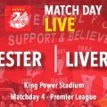 Leicester v Liverpool LIVE