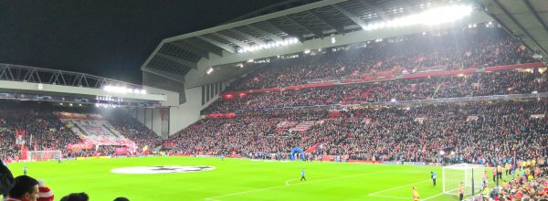 Anfield during Liverpool 1-0 Napoli [Anfield Online]