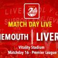 LIVE Bournemouth v Liverpool