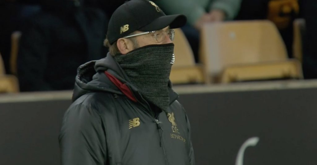 Klopp watches on v Wolves