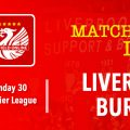 LIVE Coverage Liverpool v Burnley