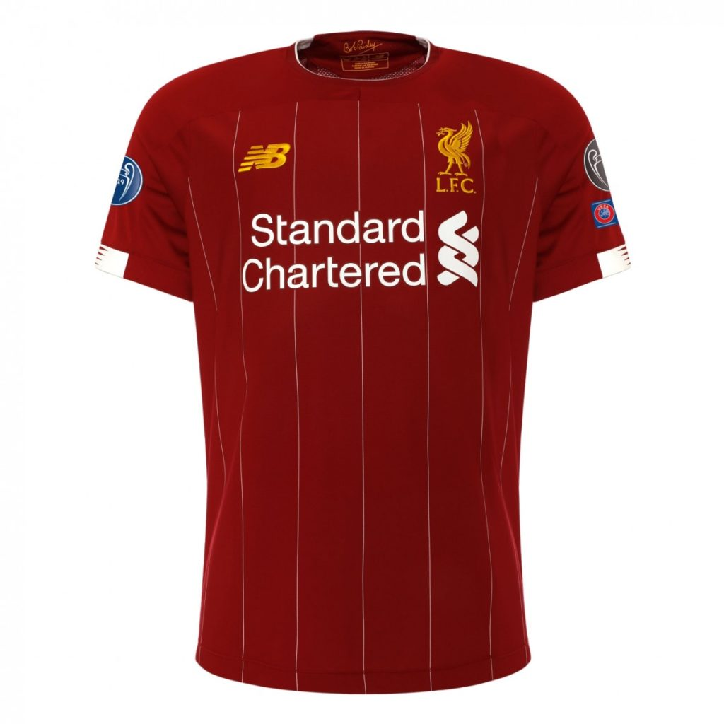 LFC European 6 times Home Shirt 2019-20