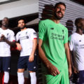 White Liverpool away kit 2019/20