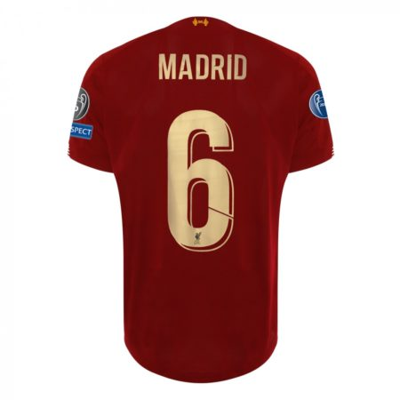 European Home Shirt 2019/20 - Madrid - 6 times