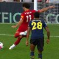 Salah scores Liverpool's 2nd goal